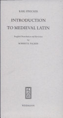 Introduction to Medieval Latin