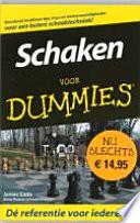 Schaken Voor Dummies Pocketeditie