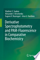 Derivative Spectrophotometry and PAM Fluorescence in Comparative Biochemistry