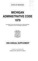 Michigan Administrative Code  1979 Book