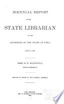 Report Of The State Librarian To The General Assembly