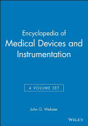 Encyclopedia of medical devices and instrumentation Book