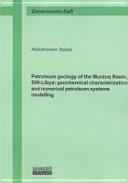 Petroleum Geology of the Murzuq Basin  SW Libya