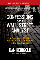 Pdf Confessions of a Wall Street Analyst Telecharger