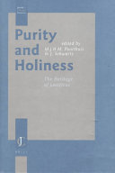 Purity and Holiness