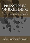 Principles of Breeding