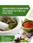 Science of Spices and Culinary Herbs: Volume 3