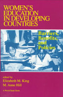 Women s Education in Developing Countries