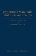 Hyperbolic Manifolds and Kleinian Groups