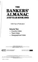 The Bankers  Almanac and Year Book