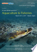 Proceedings of 5th Euro Global Summit on Aquaculture   Fisheries 2017