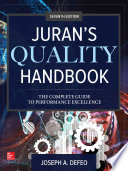 Juran S Quality Handbook  The Complete Guide To Performance Excellence  Seventh Edition