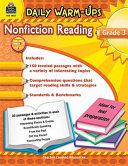 Nonfiction Reading  Grade 3