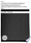 A National Plan for Energy Research  Development   Demonstration  Program implementation Book PDF
