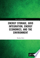 Energy Storage Grid Integration Energy Economics And The Environment Book PDF