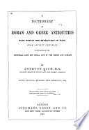 A Dictionary of Roman and Greek Antiquities Book