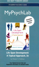 New Mypsychlab with Etext    Standalone Access Card    For Life Span Development  A Topical Approach