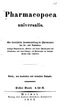 Pharmacopoea universalis