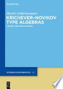 Krichever–Novikov Type Algebras