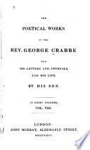 The Poetical Works of the Rev. George Crabbe: Posthumous tales