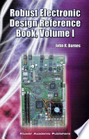 Robust Electronic Design Reference Book  no special title Book
