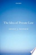 The Idea of Private Law