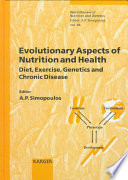 Evolutionary Aspects of Nutrition and Health Book