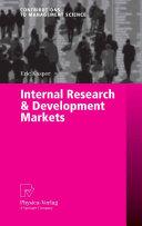 Internal Research & Development Markets