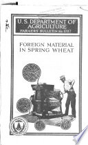 Foreign Material in Spring Wheat