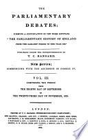 The Parliamentary Debates Pdf/ePub eBook