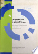 The Impact Of Plant Breeders Rights In Developing Countries