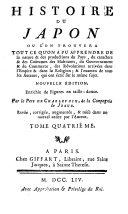 Histoire du Japon etc. Nouv. ed. Rev., corr., augm. (etc.)