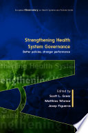 EBOOK: Strengthening Health System Governance: Better policies, stronger performance