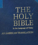 The Holy Bible in the Language of Today