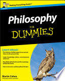 Cover of Philosophy For Dummies