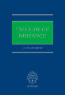 Cover of The Law of Nuisance