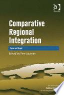 Comparative Regional Integration