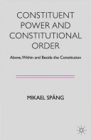 Pdf Constituent Power and Constitutional Order Telecharger