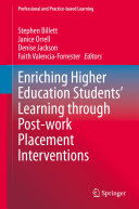 Enriching Higher Education Students    Learning through Post work Placement Interventions