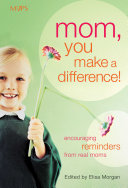 Mom You Make A Difference  Book PDF