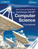 Books - Cambridge Igcse� Computer Science Coursebook | ISBN 9781107518698