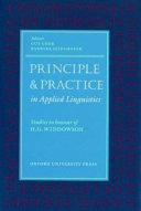 Principle   Practice in Applied Linguistics