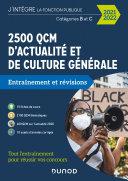 2500 QCM d'actualité et de culture générale - 2021-2022 Pdf/ePub eBook