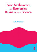 Basic Mathematics for Economics, Business and Finance Pdf/ePub eBook