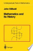 Mathematics and Its History Book