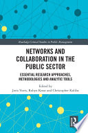 Networks and Collaboration in the Public Sector