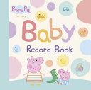 Peppa Pig Baby Record Book