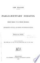 Parliamentary Debates Book