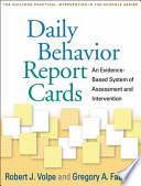 Daily Behavior Report Cards