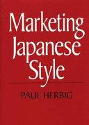 Marketing Japanese Style Book PDF